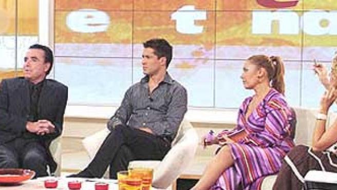 Imagen del programa 'En Antena', que conduce Jaime Cantizano. En este espacio se usa el polígrafo como detector de mentiras.