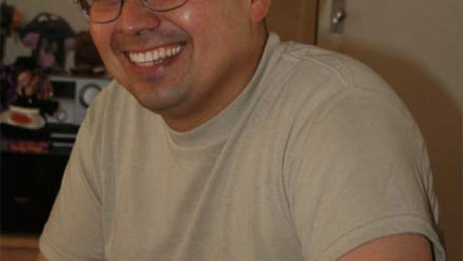El soldado estadounidense condenado por deserción, en una foto tomada de la web (aguayodefense.org) montada para su defensa.