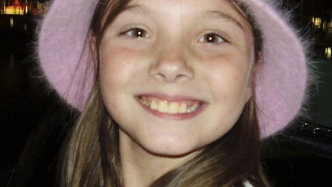 La niña Jessica Marie Lunsford, sonriendo. (Citrus County Sheriff''s Dept., HO/AP Photo)