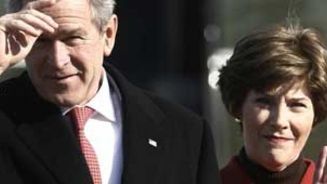 George y Laura Bush