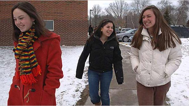 """Las tres estudiantes niegan que existiera un acuerdo para no decir """"vagina"""". (THE NEW YORK TIMES)"""