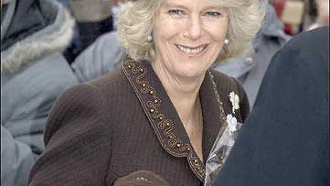Camilla, esposa de Carlos de Inglaterra.