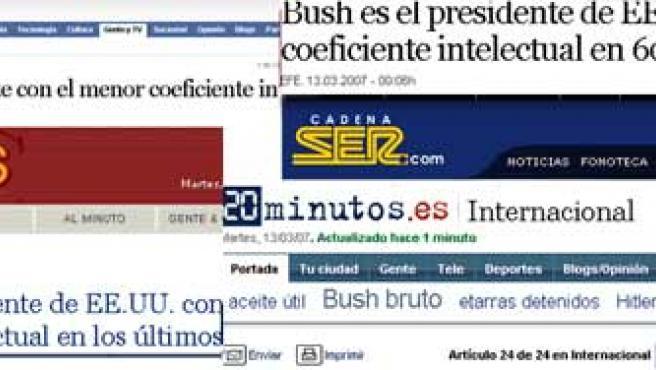 El 'hoax' en los medios
