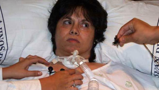 Inmaculada Echevarría, que falleció tras ser desconectada de un respirador.