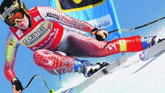 La esquiadora austriaca Renate Goetschl. (EFE)