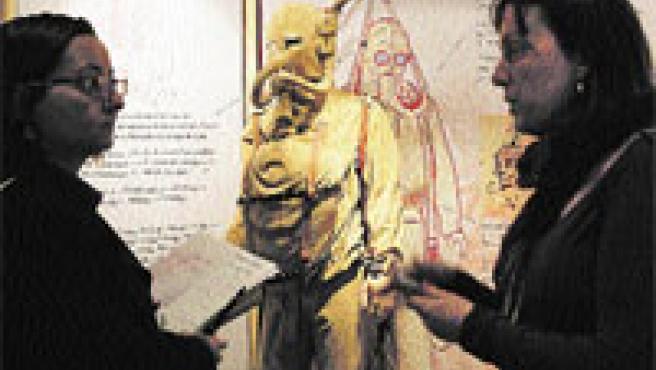 La muestra Leonardo, genio curioso. (Julián Martín / Efe)