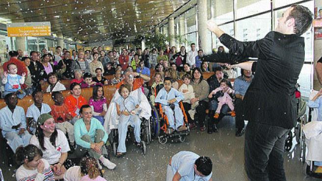 El mago Jorge Blass. (Fundación Abracadabra)