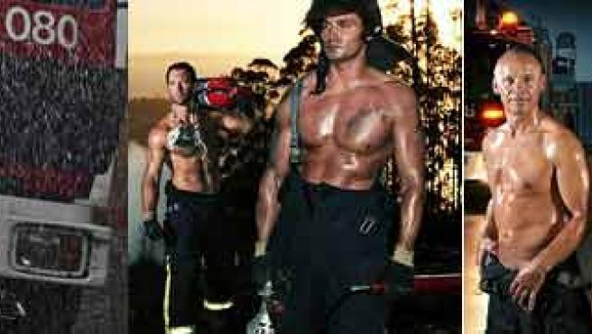 Por una buena causa los bomberos posaron ligeritos de ropa