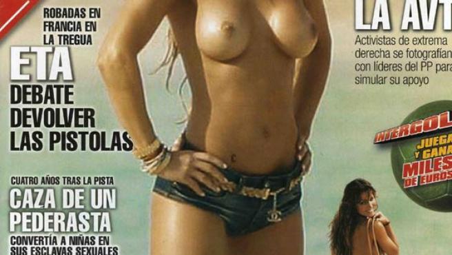Elsa Pataky, desnuda en la portada del Interviú.