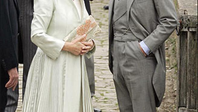 Carlos de Inglaterra y su esposa, Camilla.