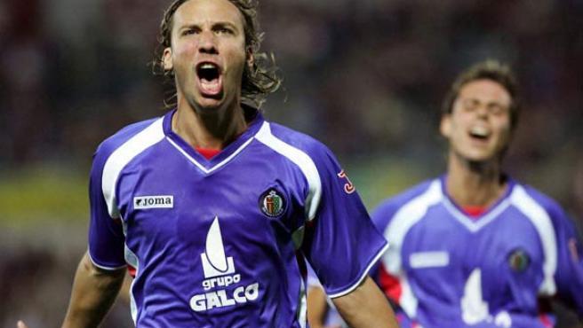 Alexis, central del Getafe, por el que está interesado el Real Madrid.