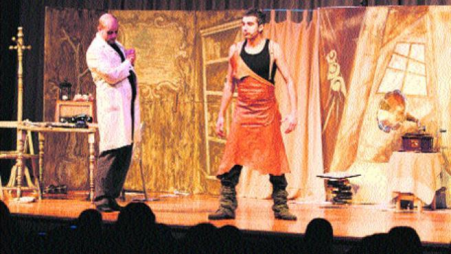 El espectáculo didáctico-teatral Un día na ópera. (M. Vila)