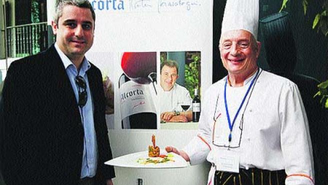 La jibia con garbanzos sobre crema de espinacas del restaurante Chinitas ganó la modalidad de cocina de toda la vida en la final Ciudad de Málaga del concurso Alcorta-Martín Berasategui.