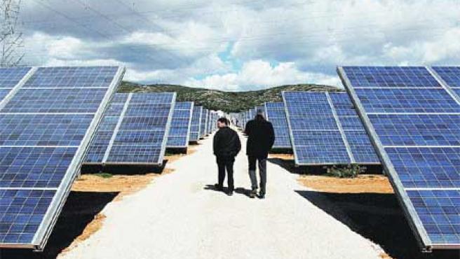Planta solar de Beneixama. (Morell /Efe).