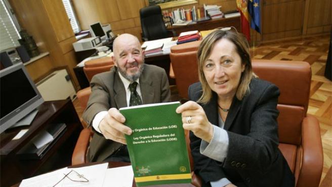 José Luis Pérez Iriarte y María Antonia Ozcariz Rubio (Foto: Jorge París)
