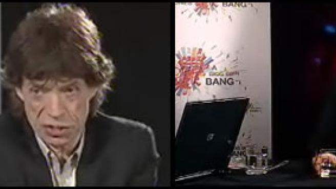 Mike Jagger anuncia en directo las etapas de su gira 2007.