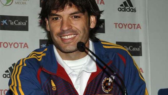 El delantero de la selección española de fútbol Fernando Morientes. (Efe)