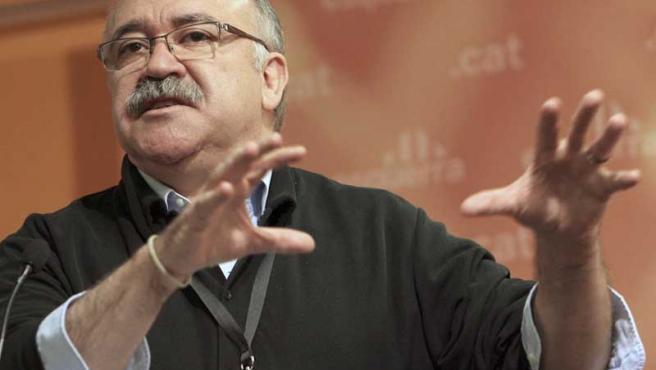 Carod Rovira, presidente del ERC.