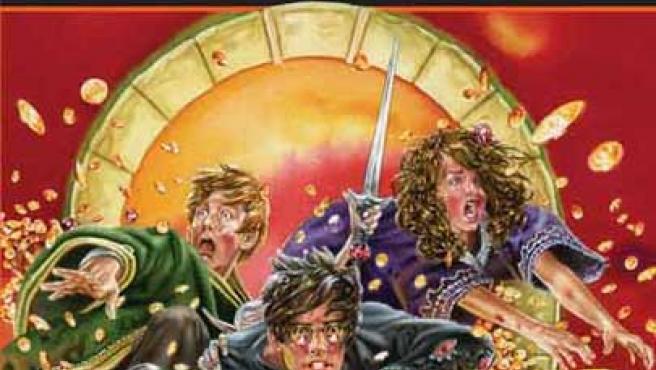 La portada británica de la última entrega de Harry Potter.