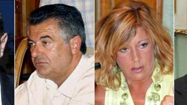 (De izq. a der.) Muñoz, Roca, Yagüe y Reñones.