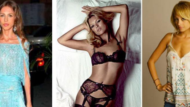 Allegra Versace (i) enferma de anorexia, Kate Moss (c) y Nicole Richie (d) thinspirations de los foros.