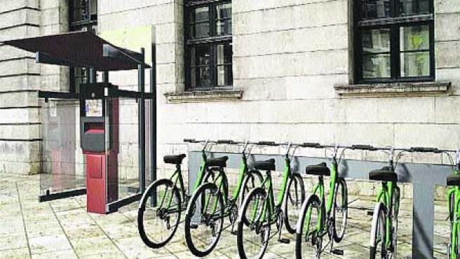Servicio de alquiler de unas 100 bicis en Catarroja y Dénia.