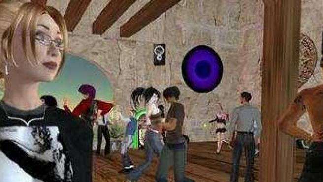 Second Life.