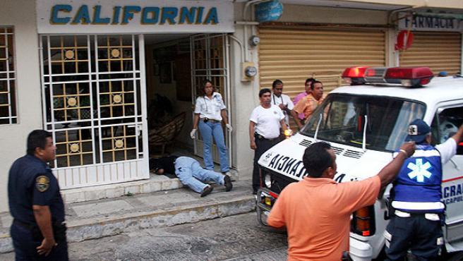 El periodista Amado Ramírez, corresponsal de Noticieros Televisa en Acapulco, México fue asesinado a balazos por un desconocido ayer (EFE/JESÚS TRIGO)