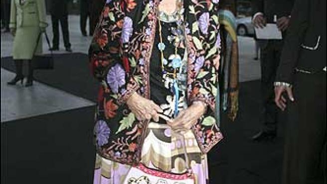 La Duquesa de Alba el pasado 29 de marzo ©Korpa