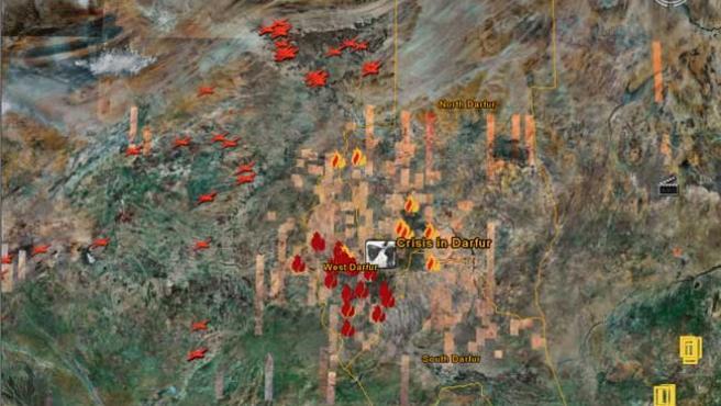 Zona de Darfur.
