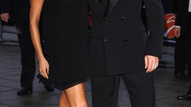 David y Victoria Beckham. (ARCHIVO)