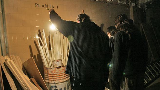 Según los ocupantes, el encierro tiene vocación de indefinido (JORGE PARÍS)