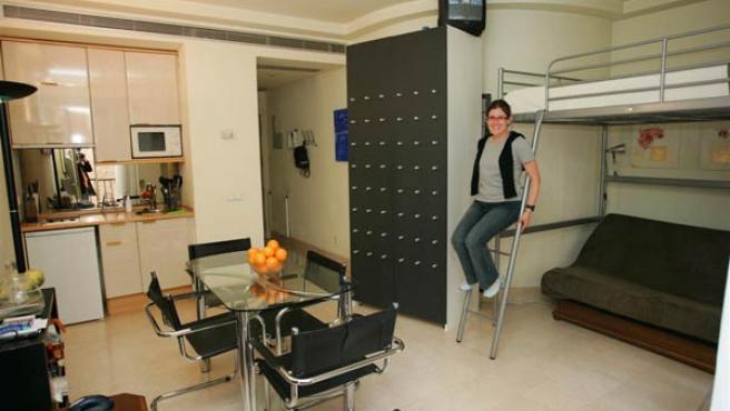 La mayoría de los jóvenes viven en pisos de pequeñas dimensiones.