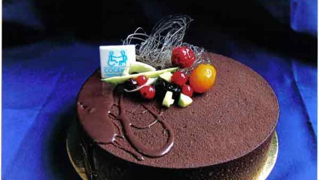 Una de esas tartas de chocolate perfectas para acelerar el ritmo cardíaco...