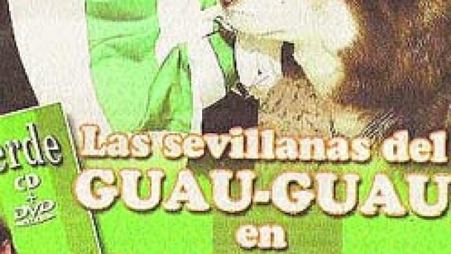 El cartel anunciador del DVD del centenario del Betis. (Archivo)