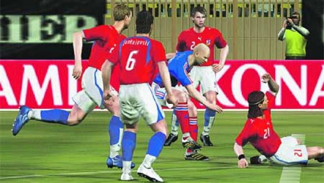 Pro Evolution Soccer 6. Es el juego más vendido de 2006. Como cada año, este juego logra entrar en los puestos de cabeza gracias a sus incondicionales, que no se pierden una.