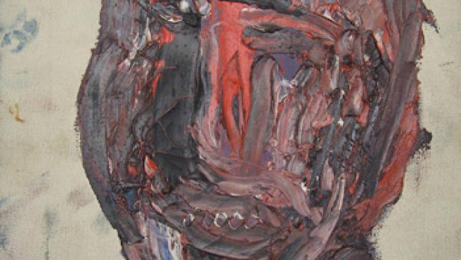 """""""Estudio para retrato"""" es una de las obras que el pintor Francis Bacon (1928-1992) quiso destrozar en un ataque de rabia."""