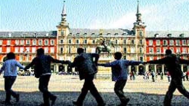 Más de 500 estudiantes madrileños.(Susana Vera / Reuters)