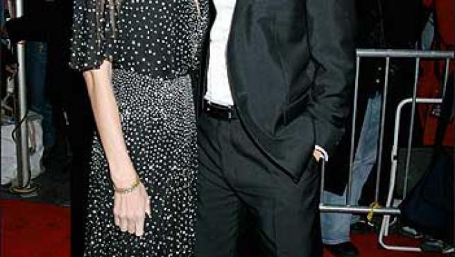 Angelina Jolie y Brad Pitt (© Korpa).