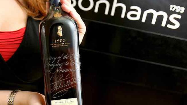 Una de las botellas de whisky más codiciadas.