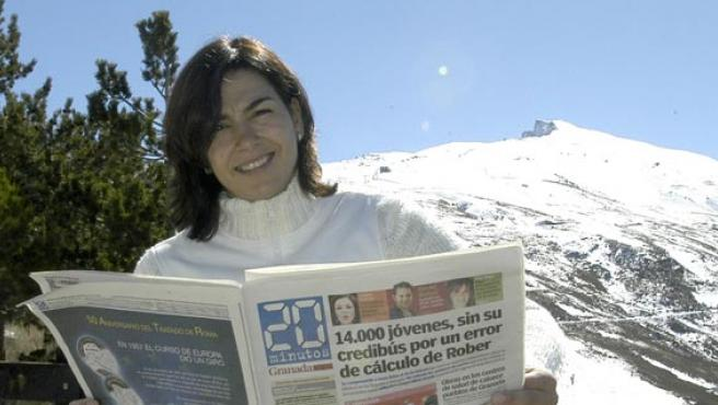 María José Rienda, en su Granada natal. (Paco Ayala)