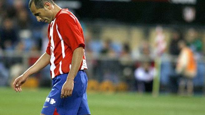 El centrocampista búlgaro del Atlético de Madrid, Martin Petrov. (Efe)