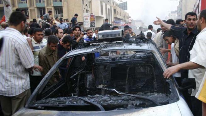 El terror se cebó, esta vez, con Kerbala, una ciudad al sur de Bagdad que alberga un santuario chií.