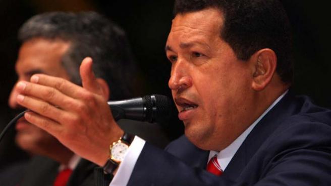 Hugo Chavez celebró con la entrada del mes de mayo la nacionalización de activos petroleros en manos extranjeras.