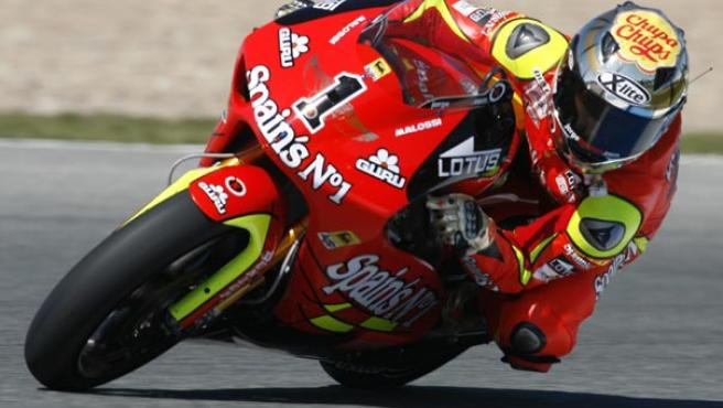 Jorge Lorenzo, durante unos entrenamientos en Jerez (Reuters).