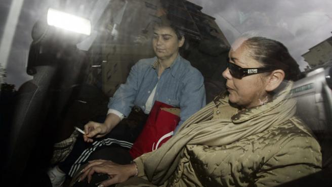Isabel Pantoja descansará en 'Mi gitana' tras declarar durante casi tres horas