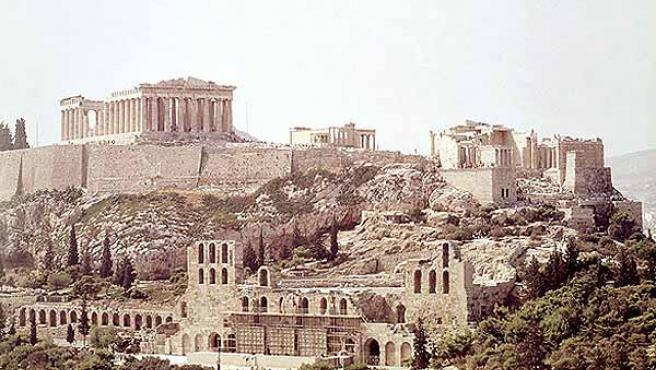Vista de la Acropolis (GOBIERNO DE GRECIA).