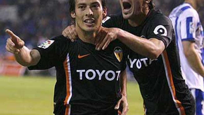 Silva es duda pero Villa sí estará ante el Mallorca.