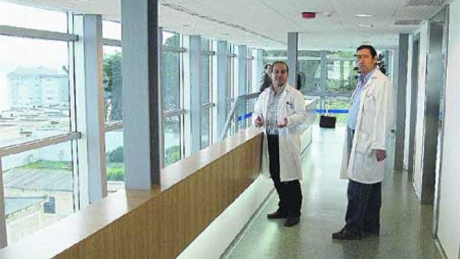 El ambulatorio de Monte Alto, inaugurado en el año 2006, se quedará sin refuerzos.(M. F.)