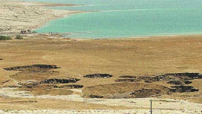 Mar Muerto en Israel. (Efe).